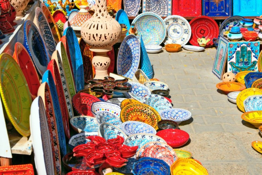 Sur le souk de Djerba. (© Nataliya Hora - Shutterstock.com))