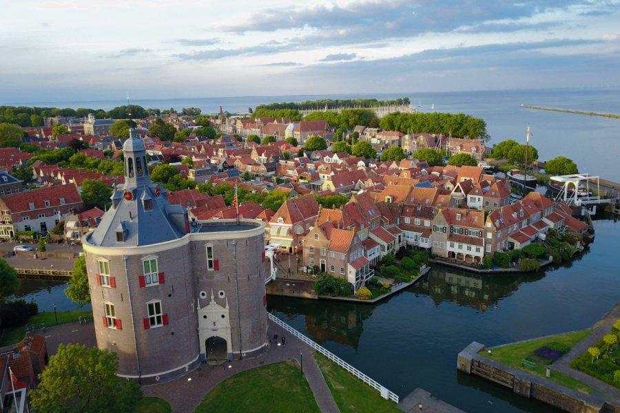 Vue de la ville d'Enkhuizen. (© Roy Kat / OFFICE DU TOURISME (VVV)))