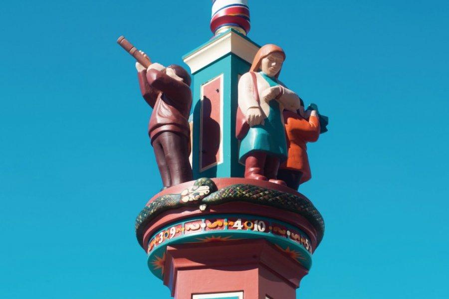 Les statuettes de Saint John. (© Tourisme Nouveau-Brunswick))
