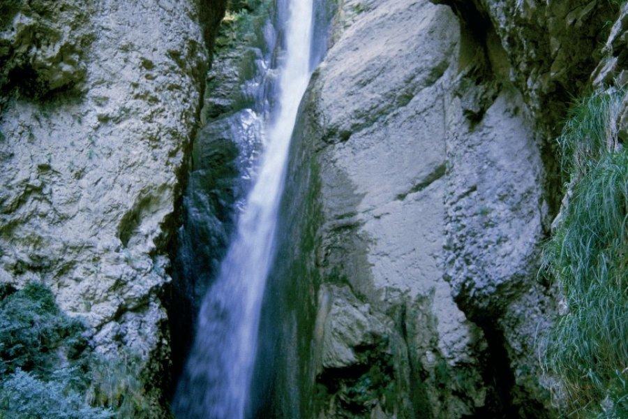 Chute de la Druise dans les gorges d'Omblèze (© PHOVOIR))