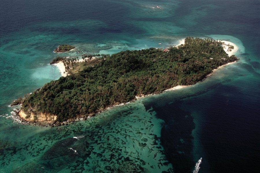 Cayo Levantado, un îlot paradisiaque. (© Author's Image))