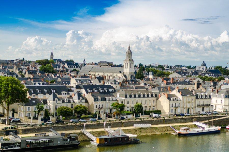 Vue sur la ville d'Angers. (© Sokarys - Fotolia))