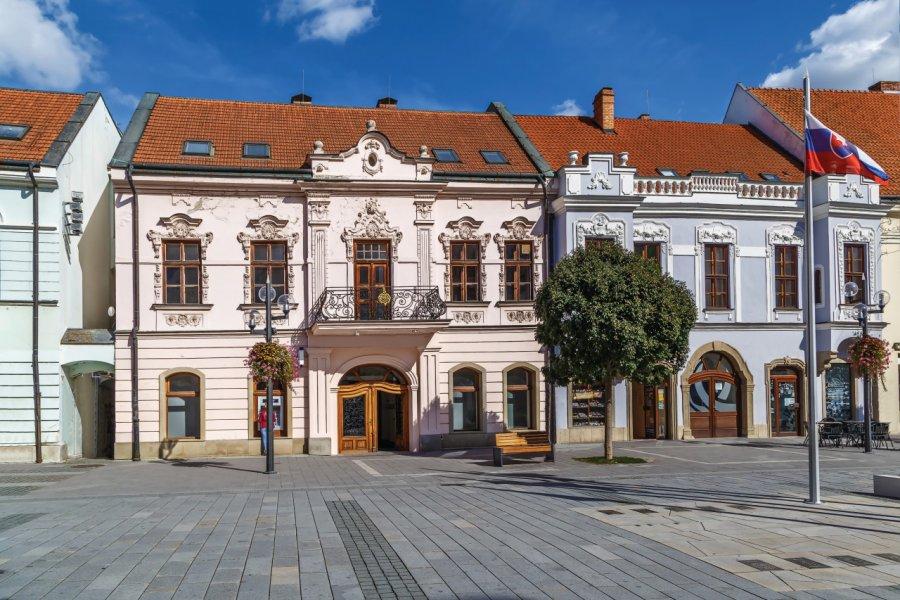 Les rues dans le centre historique. (© Borisb17))