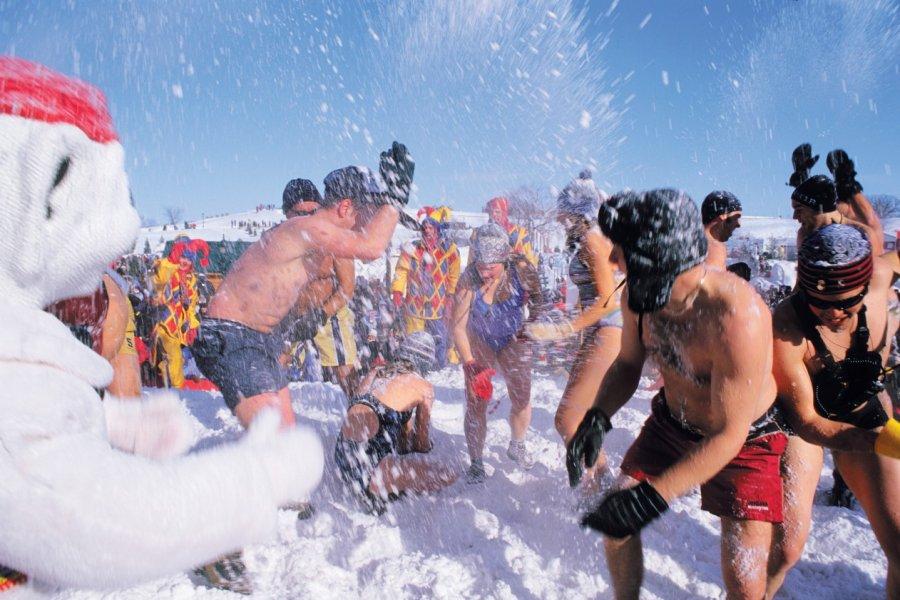 Carnaval de Québec, bain de neige. (© Author's Image))