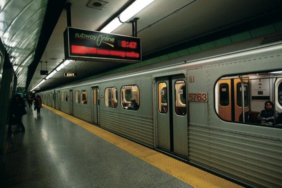 Métro de Toronto. (© Yukiko Yamanote - Iconotec))