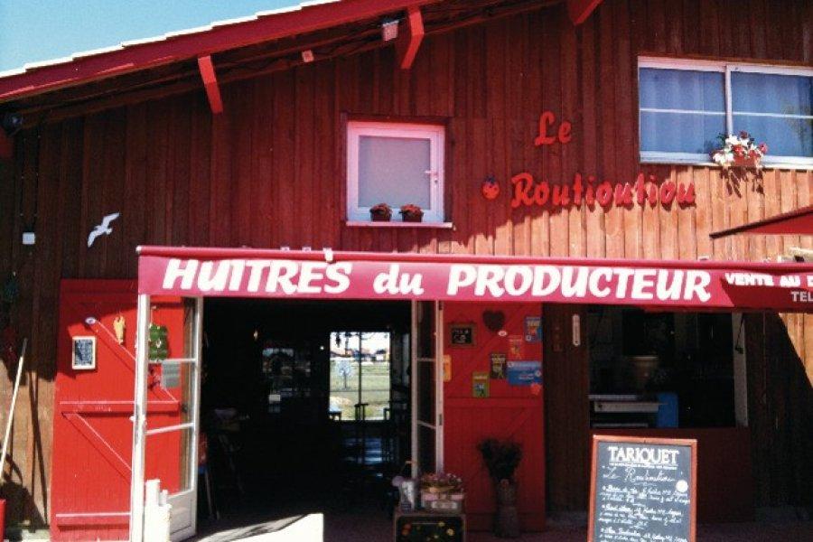 La cabane de dégustation Le Routioutiou (© Géraldine Vigier))
