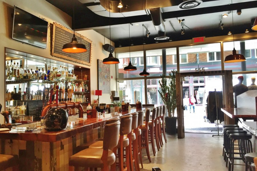 Sympathique bar-boutique de Québec. (© Valérie FORTIER))
