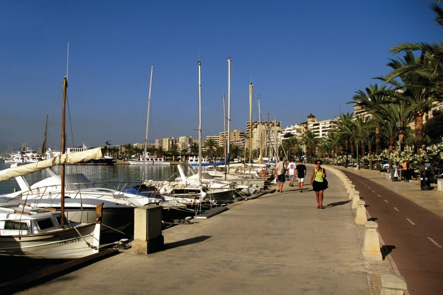 Promenade maritime de Palma de Majorque. (© Author's Image))