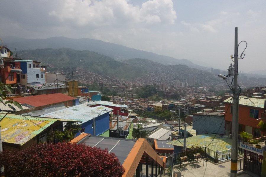 La Comuna 13. (© Nicolas LHULLIER))