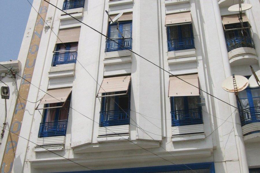 Immeuble de Bejaïa. (© Jean-Paul LABOURDETTE))
