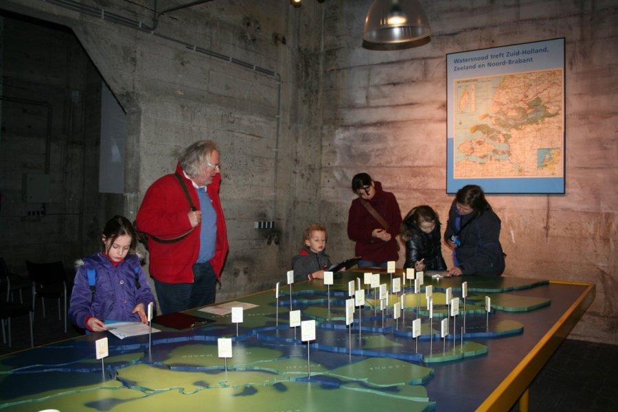 Maquette explicative au Musée de l'inondation. (© ©Watersnoodmuseum))
