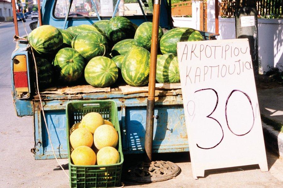 Pastèques. (© Author's Image))