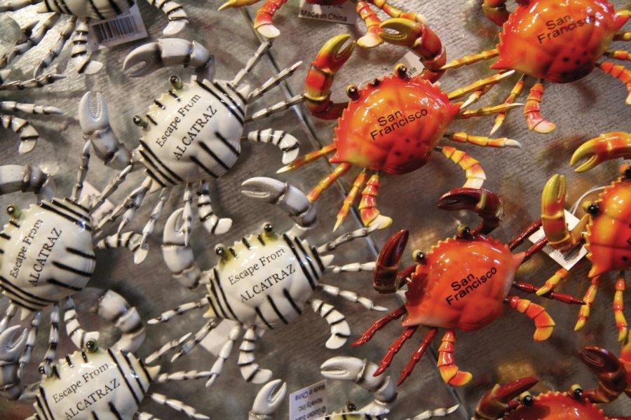 Crabes en magnet. (© Stéphan SZEREMETA))