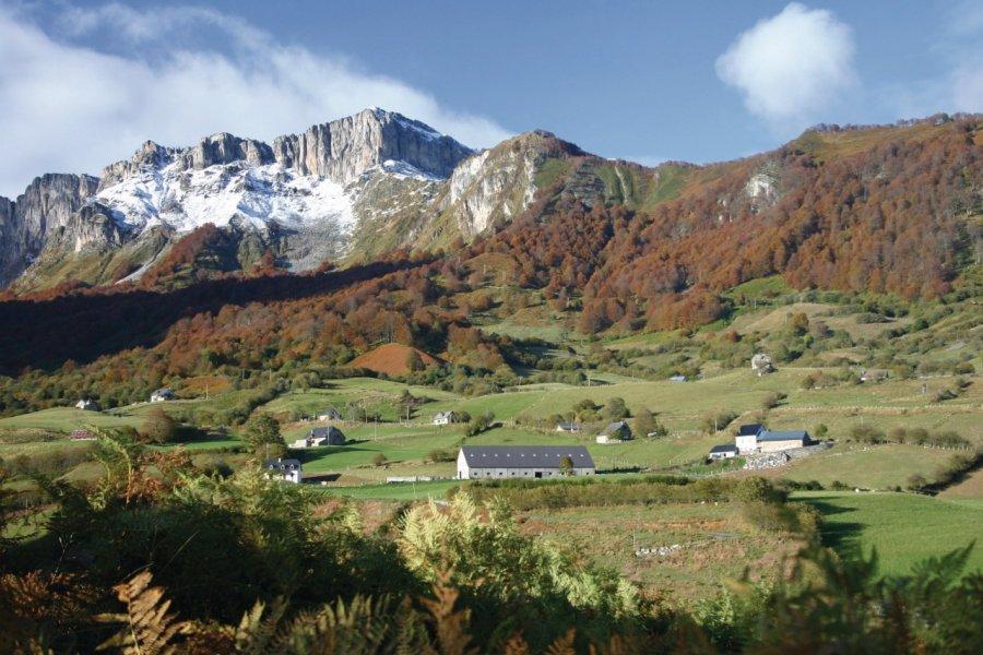 La vallée d'Aspe (© Béatrice TROSSEILLE - Xilopix))