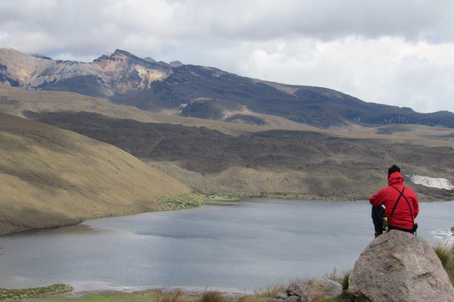 Laguna del Otún (3950 m), Parque Nacional Los Nevados. (© Paramo Trek))