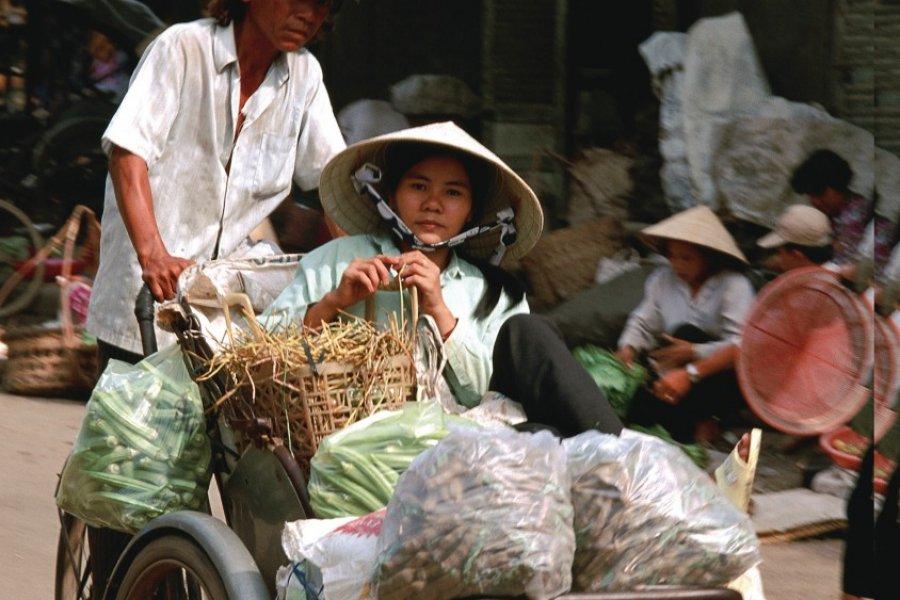 Scène de marché à My Tho. (© Author's Image))