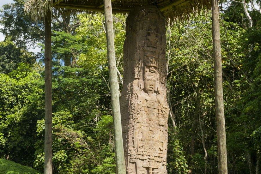 Site archéologique de Quiriguá. (© Byron Ortiz / Shutterstock.com))