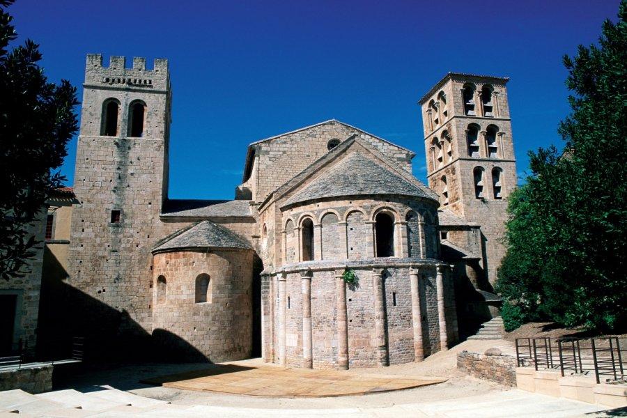 L'abbaye de Caunes-Minervois (© IRÈNE ALASTRUEY - AUTHOR'S IMAGE))