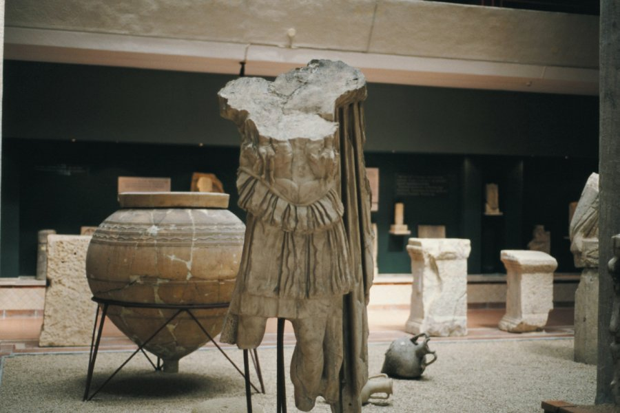 Musée archéologique de Durrës. (© Julie Briard))