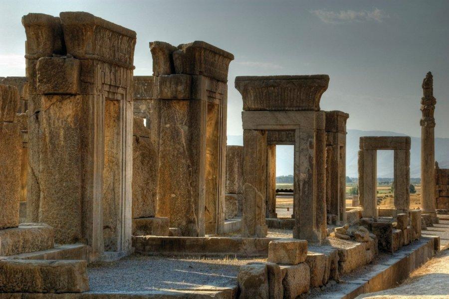 Le palais de Darius. (© Stefan Baum))