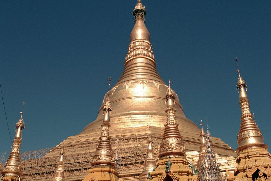 Pagode Shwedagon. (© Author's Image))