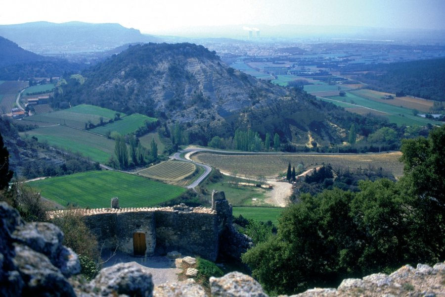 Vue de Clansayes près de Grignan (© PHOVOIR))