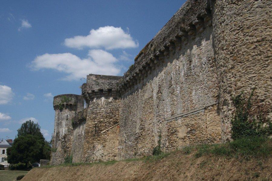 Les remparts et la promenade Anne d'Alègre (© Béatrice DEMERSSEMAN))