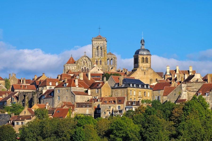 Le village de Vézelay. (© LianeM - Adobe Stock))