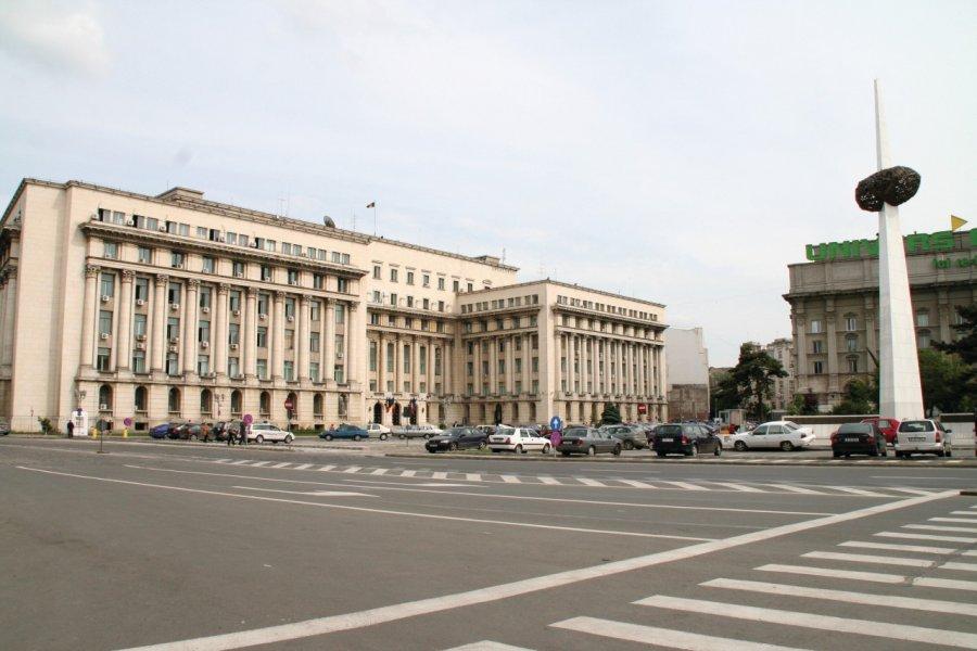 Place du mémorial de la Renaissance. (© Stéphan SZEREMETA))