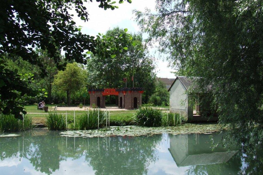 Le Parc François Mitterrand à Issoudun. (© Laëtitia STEIMETZ))