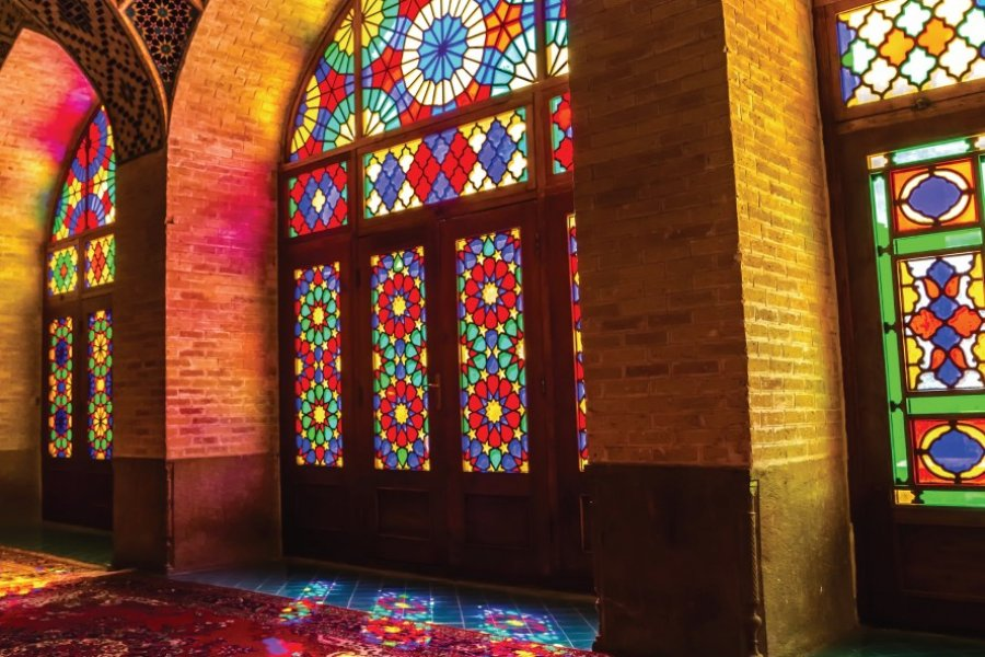 Mosquée Nasir-ol-Molk, Chiraz. (© Jasmina Mihoc  - iStockphoto))