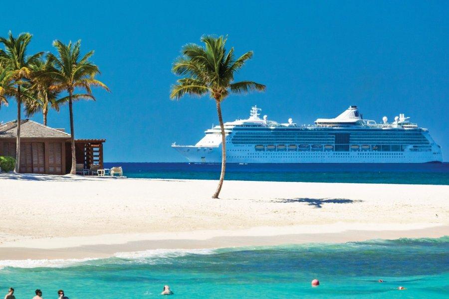 Plage de l'Atlantis Resort sur Paradise island. (© Pietro Canali))