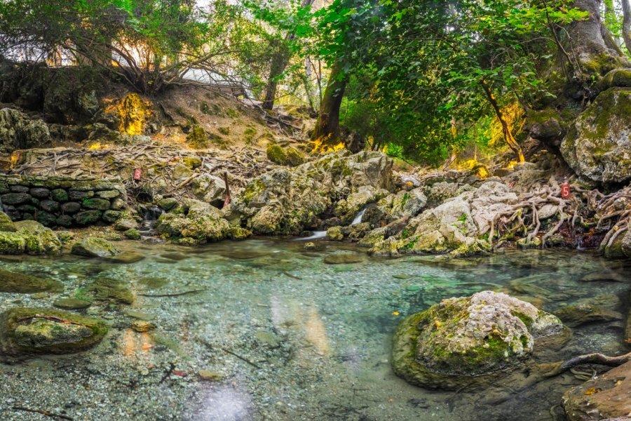 Epta Piges ou Vallée aux sept sources. (© ian woolcock - Shutterstock.com))