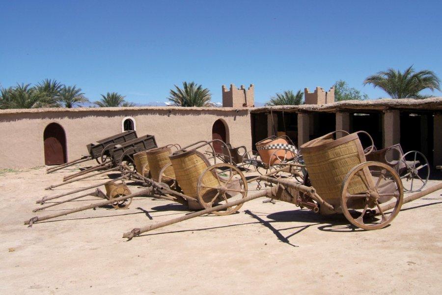 Chars de péplum marocain. (© Stéphan SZEREMETA))