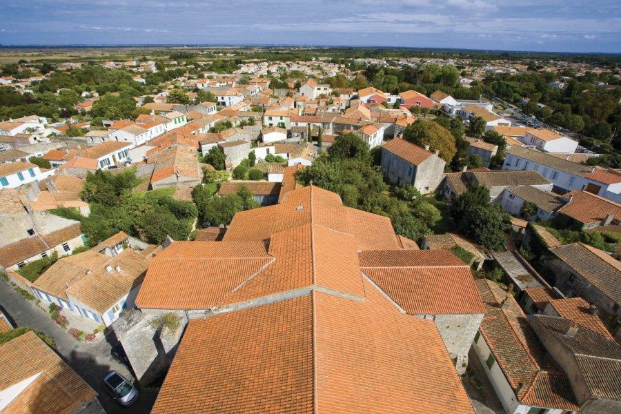 Les toits de Saint-Pierre-d'Oléron (© JONATHAN - Fotolia))