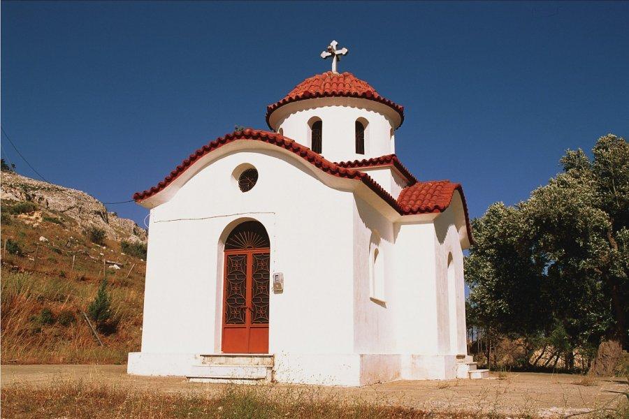 Église sur l'île de Rhodes. (© Author's Image))