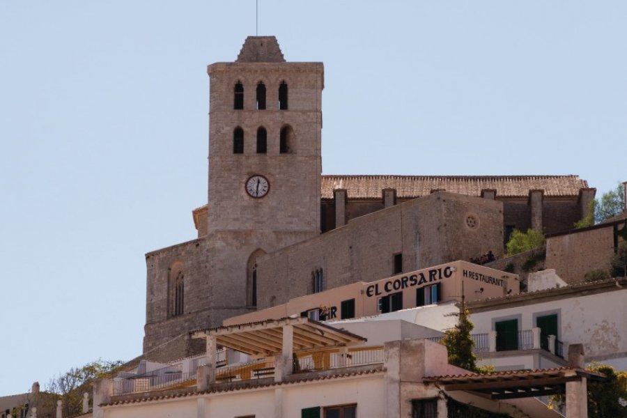 Cathédrale de Nuestra Señora de las Nieves et Dalt Vila. (© Julien HARDY - Author's Image))