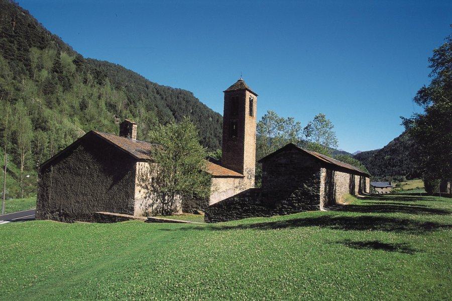 Église Sant Marti de la Cortinada (© Ministère du Tourisme du Gouvernement d'Andorre))