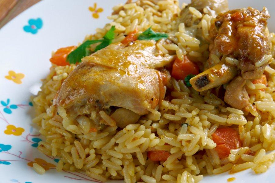 Makbous au poulet. (© Fanfo / Shutterstock.com))