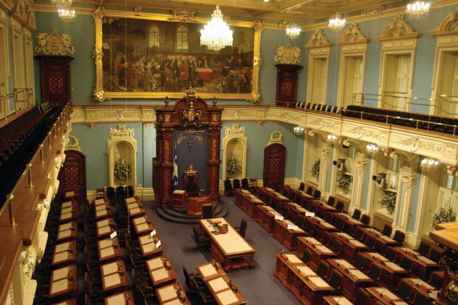 Assemblée nationale du Québec, Hôtel du Parlement (© Stéphan SZEREMETA))