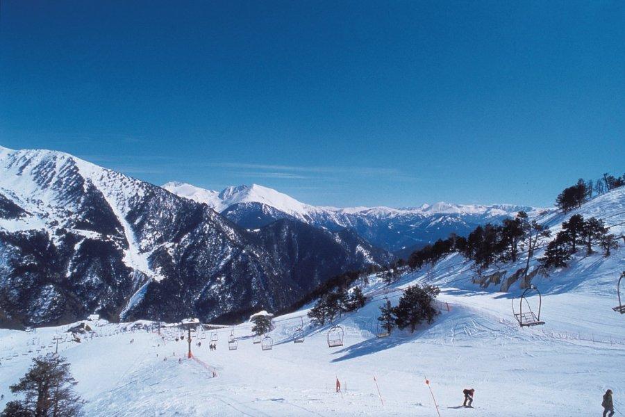 Pistes skiables d'Arinsal (© Ministère du Tourisme du Gouvernement d'Andorre))