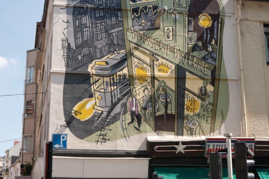 Mur peint dans la ville basse. (© Author's Image))