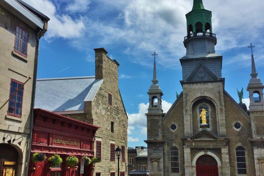 Chapelle Notre-Dame-de-Bon-Secours dans le Vieux-Montréal. (© Valérie FORTIER))