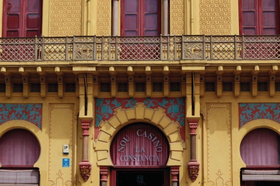 Casino La Constancia à Saint Feliu de Guíxols. (© Irène ALASTRUEY - Author's Image))
