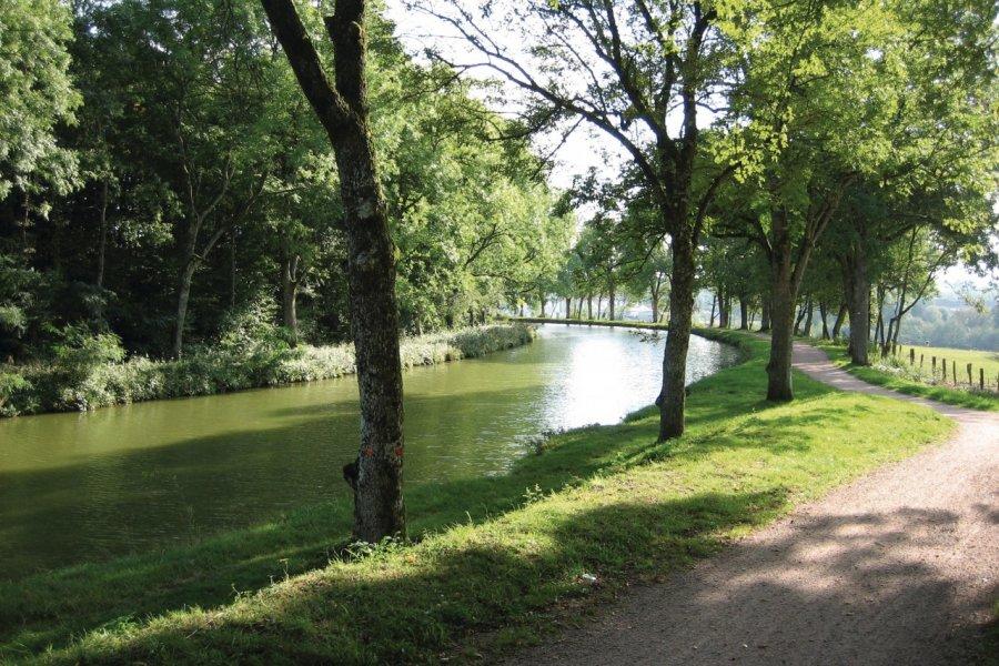 Le canal des Vosges. (© Ville d'Epinal))