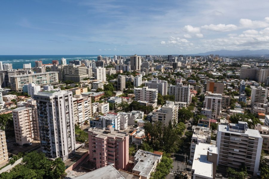 Vue aérienne du centre de San Juan. (© Trekandshoot - iStockphoto))