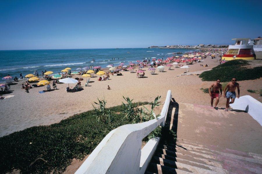 Les plages à l'ouest d'Alger, Sidi-Fredj. (© Sébastien CAILLEUX))