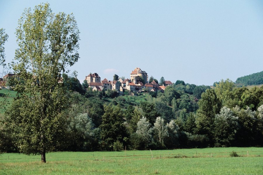 Vue générale de Curemonte (© Florent RECLUS - Author's Image))