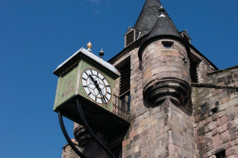 Canongate Tolbooth. (© Lawrence BANAHAN - Author's Image))