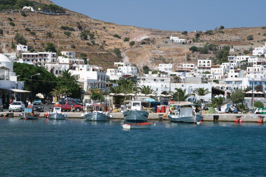 Skala, port de l'île de Patmos. (© Vangelis Thomaidis - Fotolia))